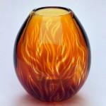 Flames: graal vase
