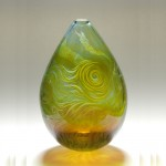 Spanish Swirl: graal vase