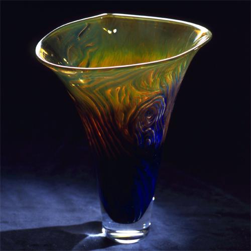 Winter Growth: graal vase